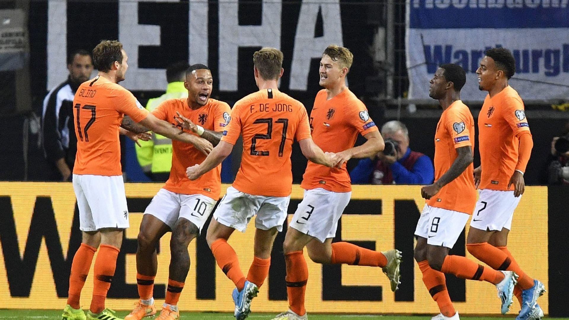 Холандски футболен рецитал смълча Германия (резултати)