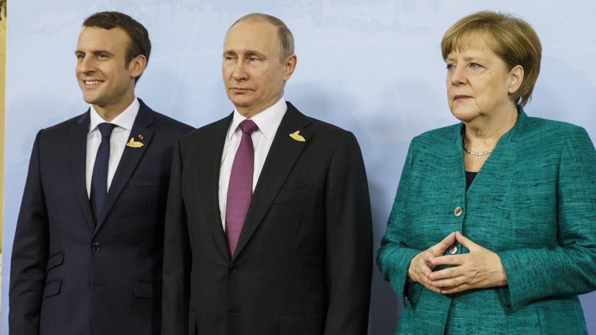С Путин или срещу Путин? Първият тест за Макрон е сега