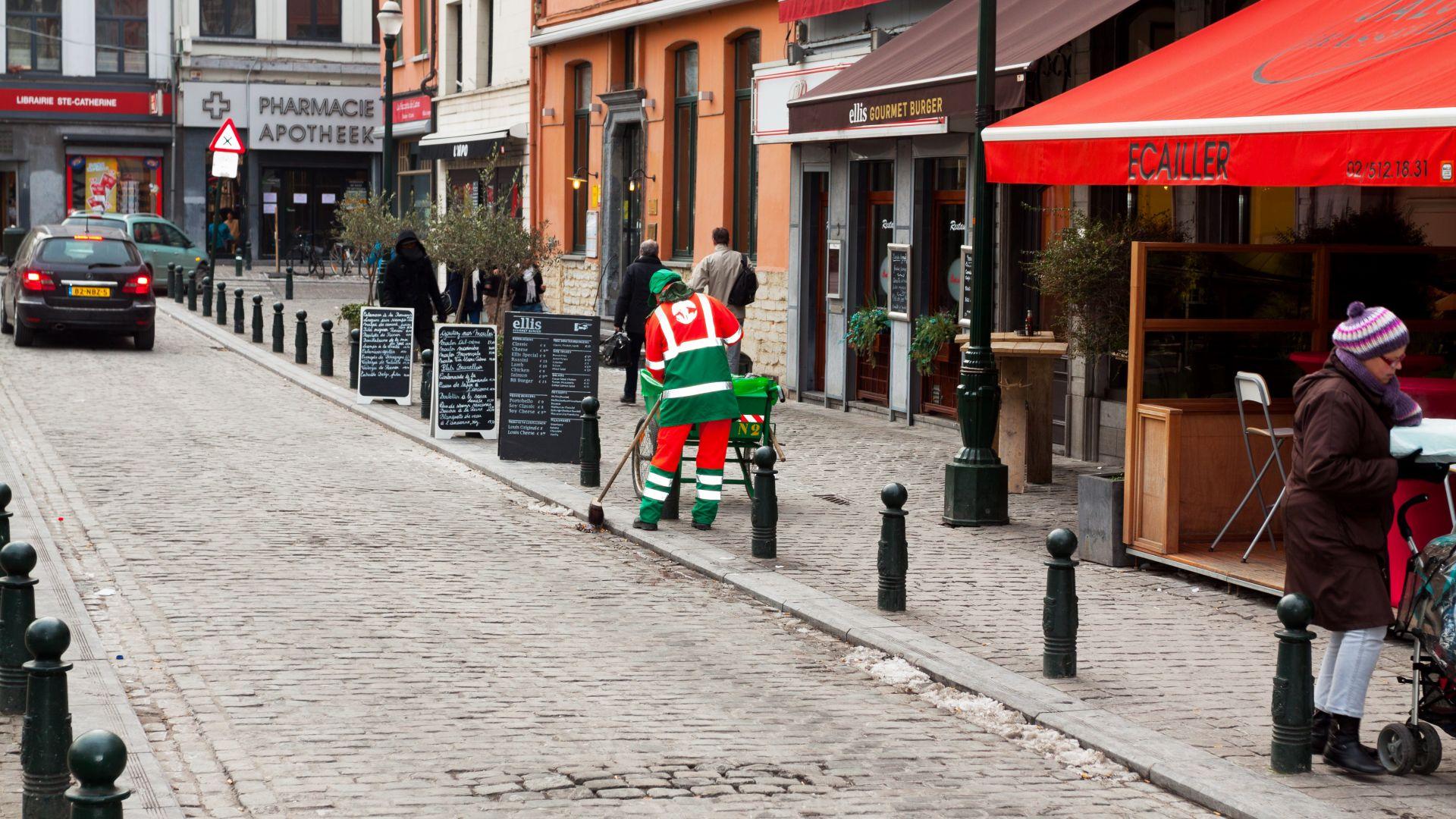 Българите в Брюксел работят основно като чистачки и строители
