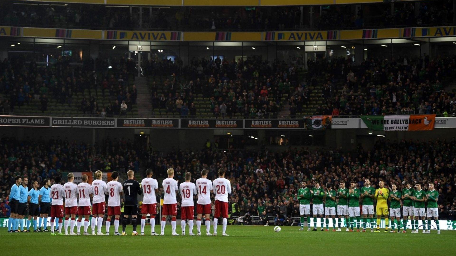 България излиза на пълен стадион и в Дъблин