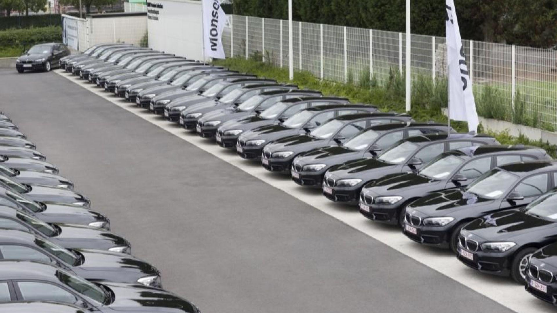Белгийците не желаят да се разделят със служебните си автомобили