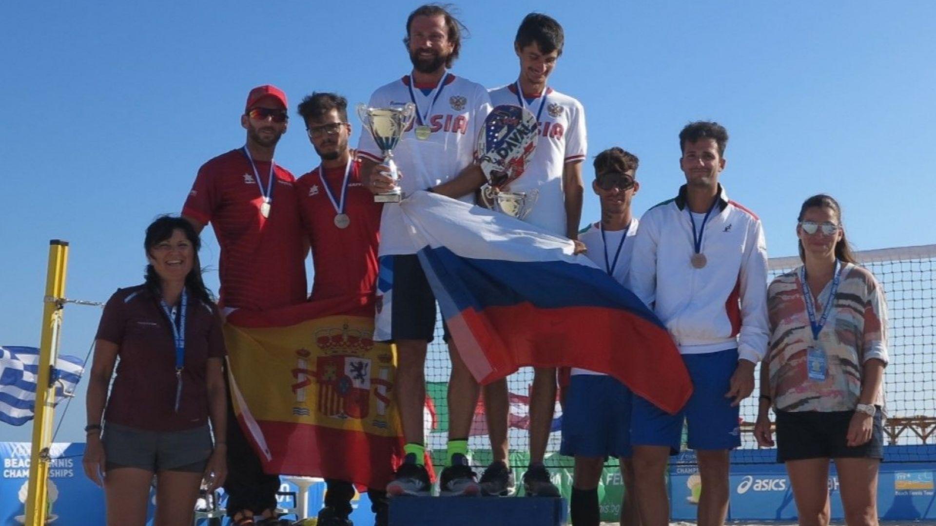 Тенис Европа поздрави Българската федерация за Европейското по плажен тенис