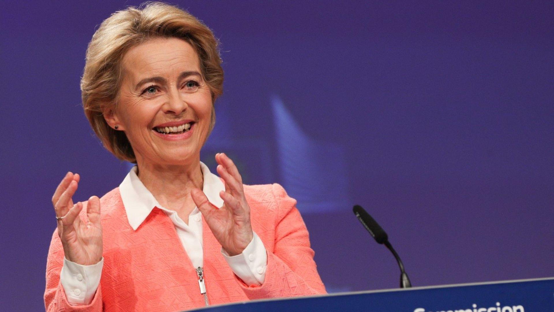 Урсула фон дер Лайен ще живее в централата на ЕК, за да пести от охрана и придвижване