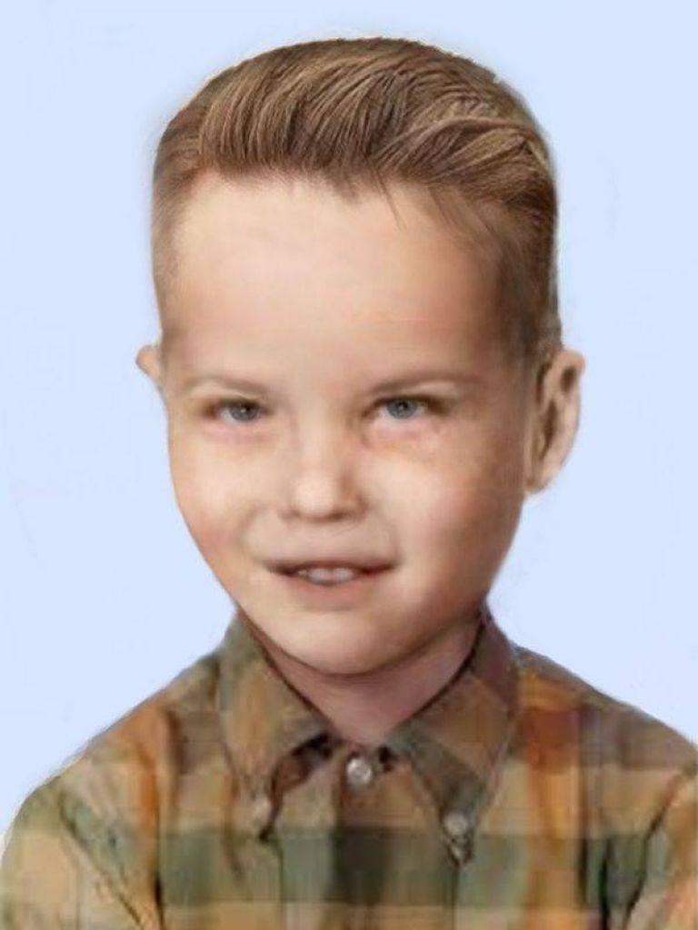 Компютърна възстановка на лицето на убитото дете