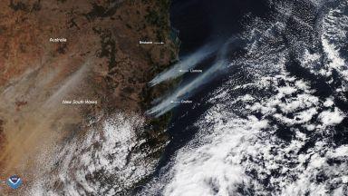 Стотици горски и полски пожари обхванаха и части от Австралия