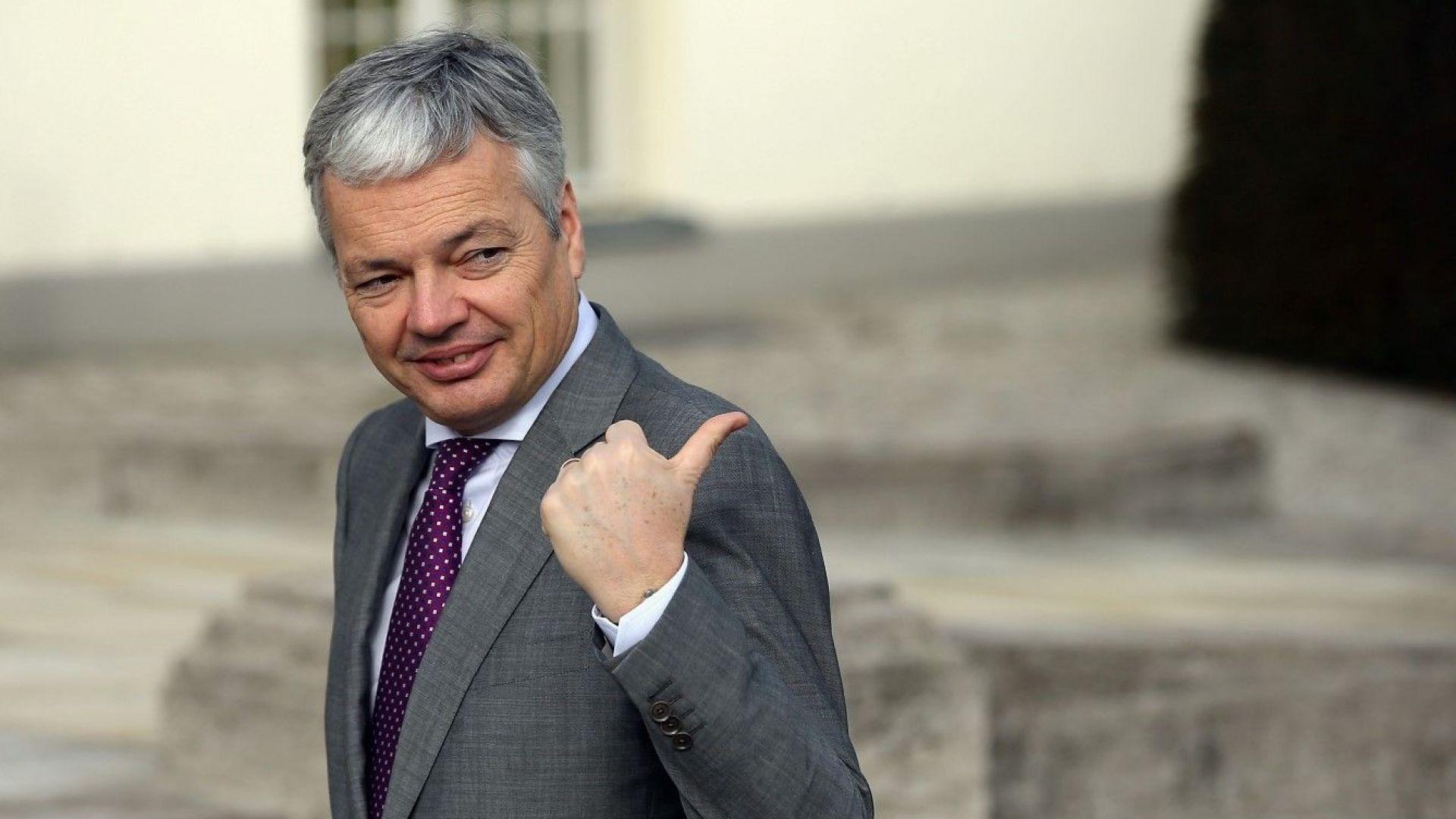 Белгийският политик Дидие Рейндерс бе предложен за еврокомисар по правосъдието