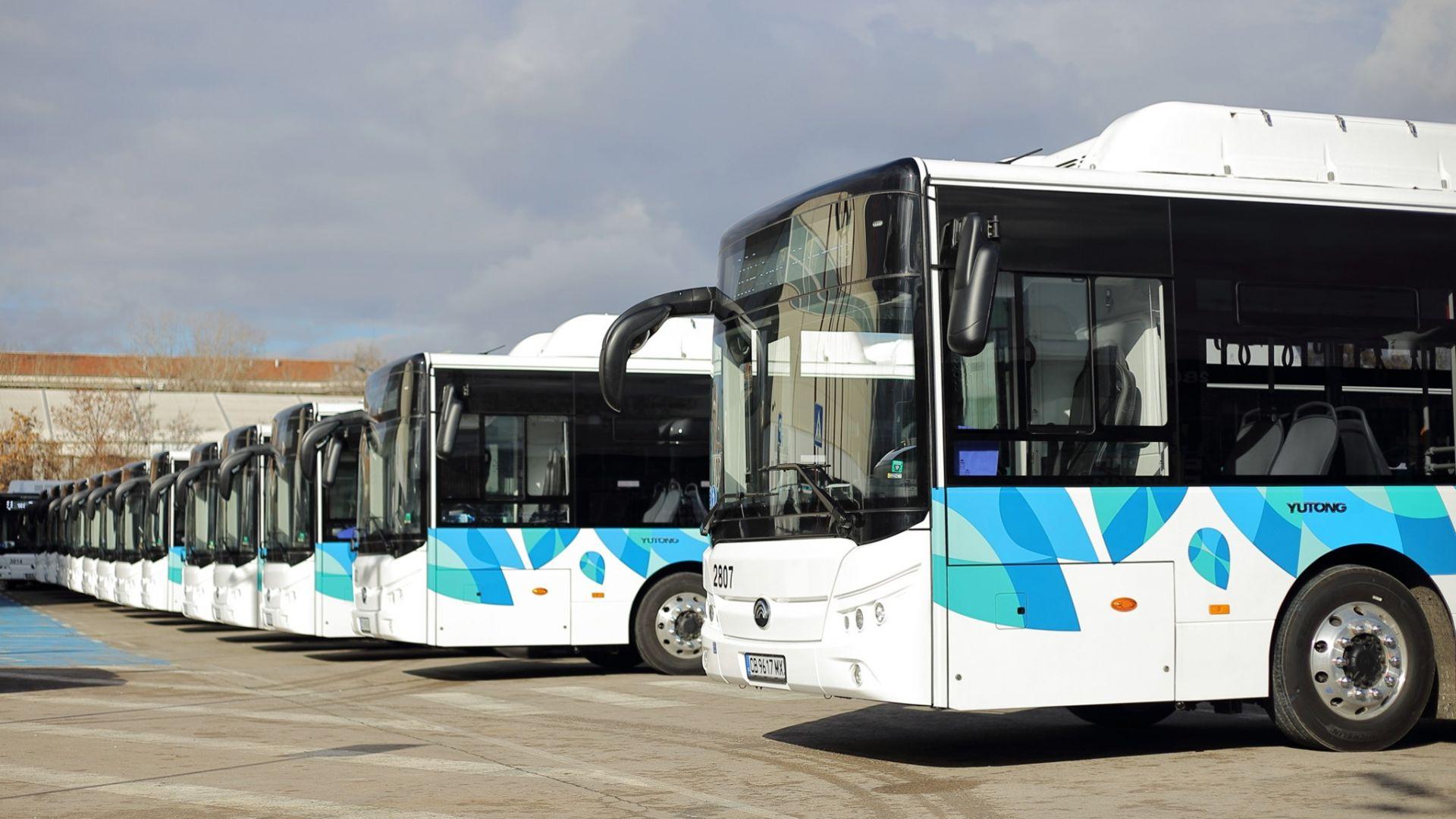 Новите електробуси