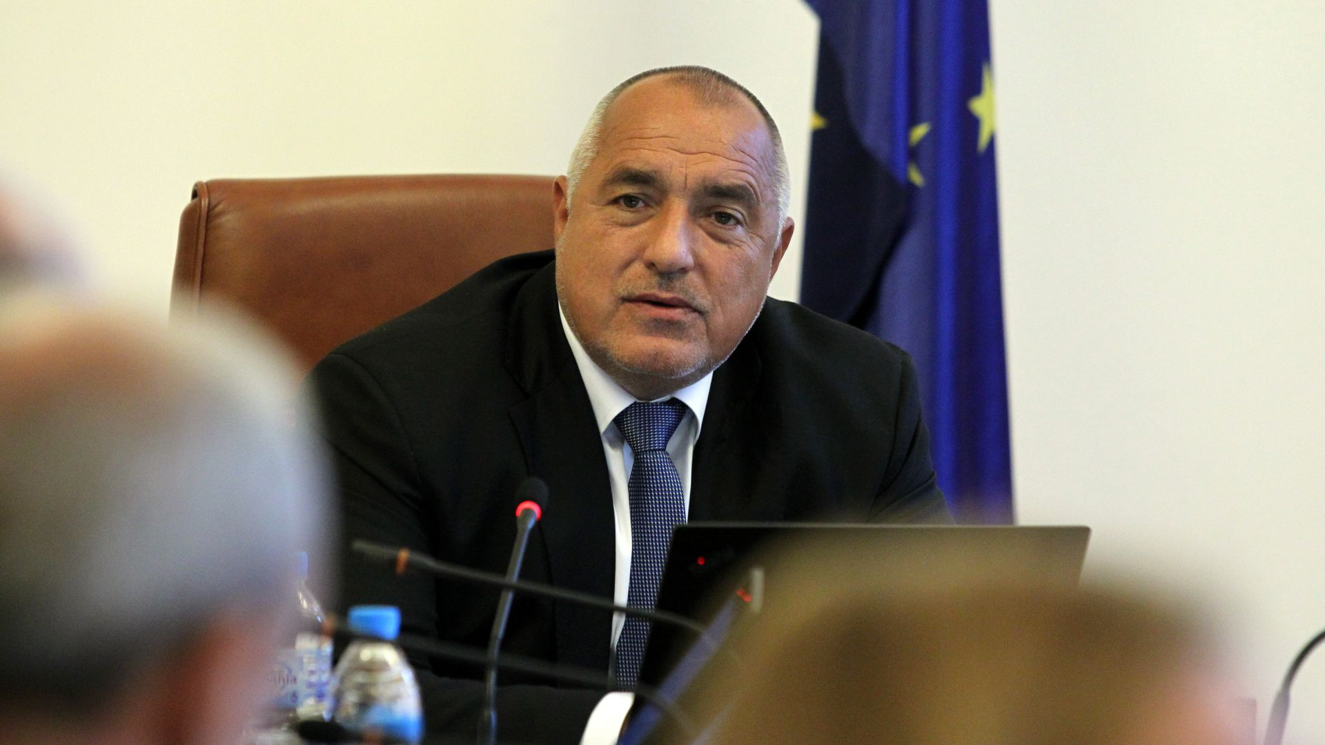 Премиерът Бойко Борисов пристигна в Народното събрание, за да участва
