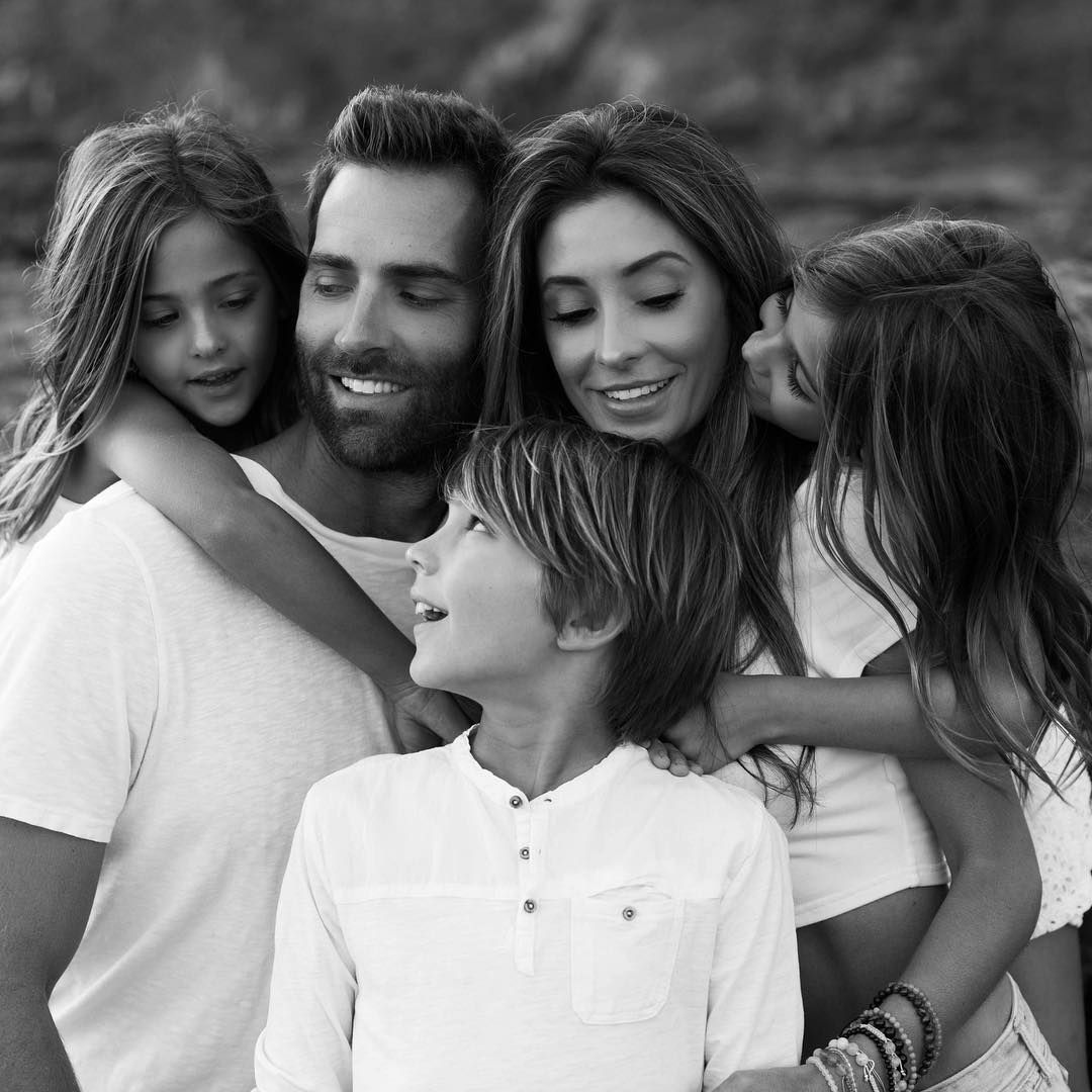 Семейство Климентс - Кевин и Джаки с децата им Ава, Лиа и Чейс