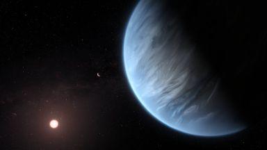 Учени откриха водни пари на екзопланета