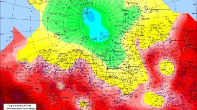 Рекордно горещо в Европейска Русия, но краят на жегата се вижда