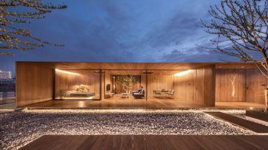 """WARchitect проектира апартамент-""""дървена кутия"""", на покрива на 5-етажна сграда в Банкок"""