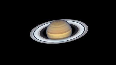 """Телескопът """"Хъбъл"""" направи нов портрет на Сатурн"""