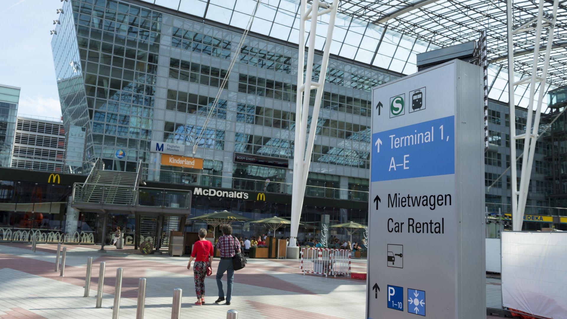 Нов  пробив в сигурността на летище Мюнхен отложи полети