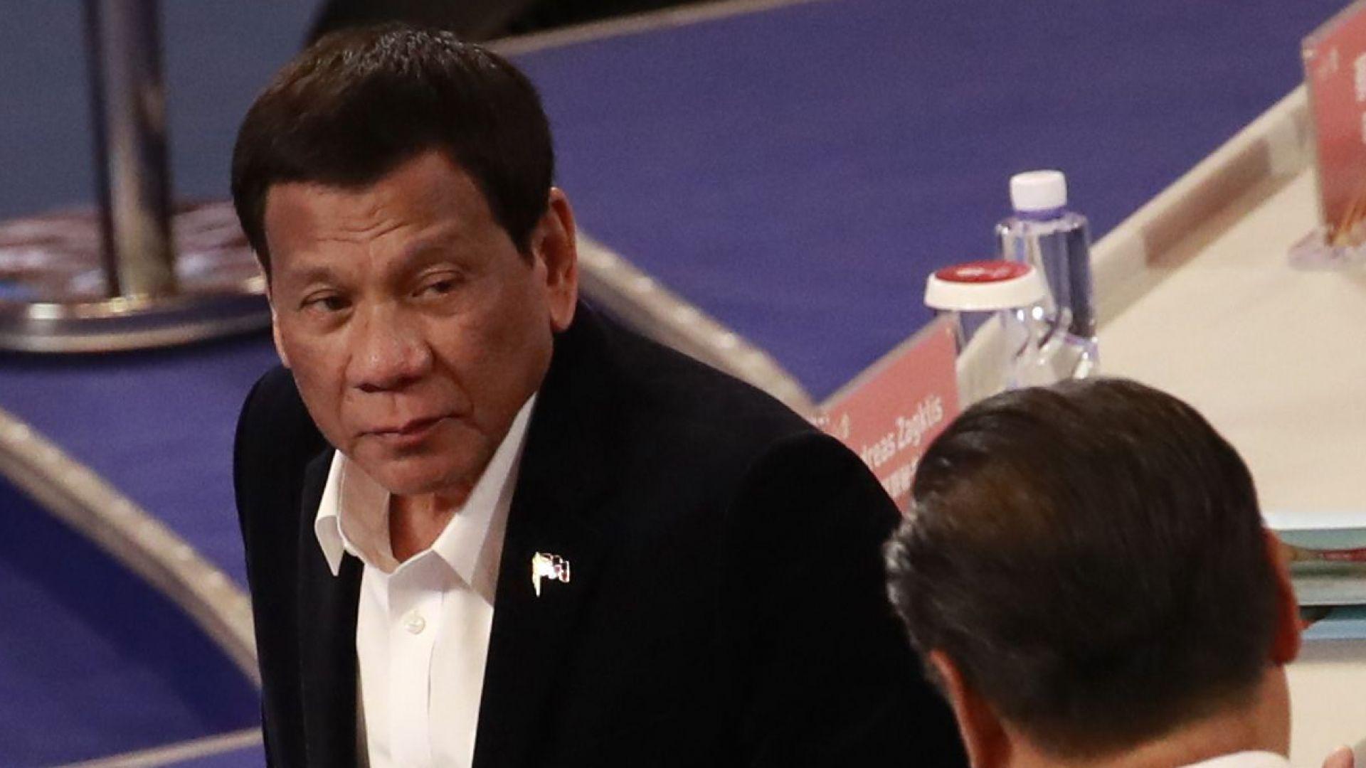 Президентът на Филипините: Стреляйте по корумпирани служители, но не ги убивайте