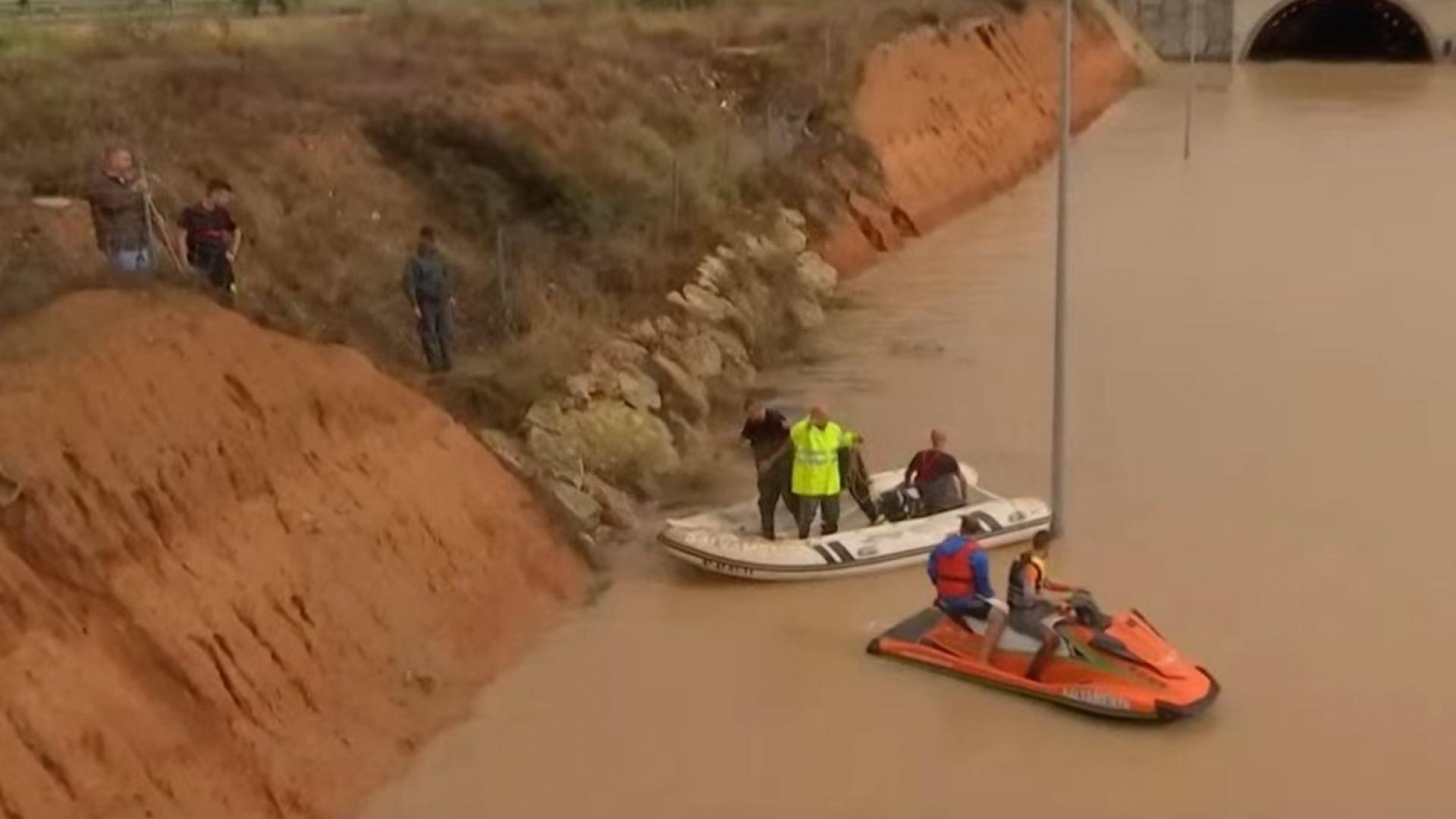 Невиждани наводнения в Испания, виновникът - висок циклон