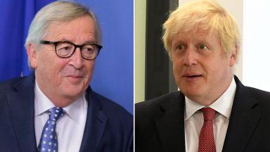 """Юнкер и Джонсън с първа среща за Брекзит на """"неутрално място, където може да се поднесе обяд"""""""