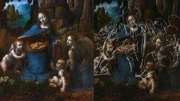 """Загадка с """"Мадоната на скалите"""" на Леонардо"""