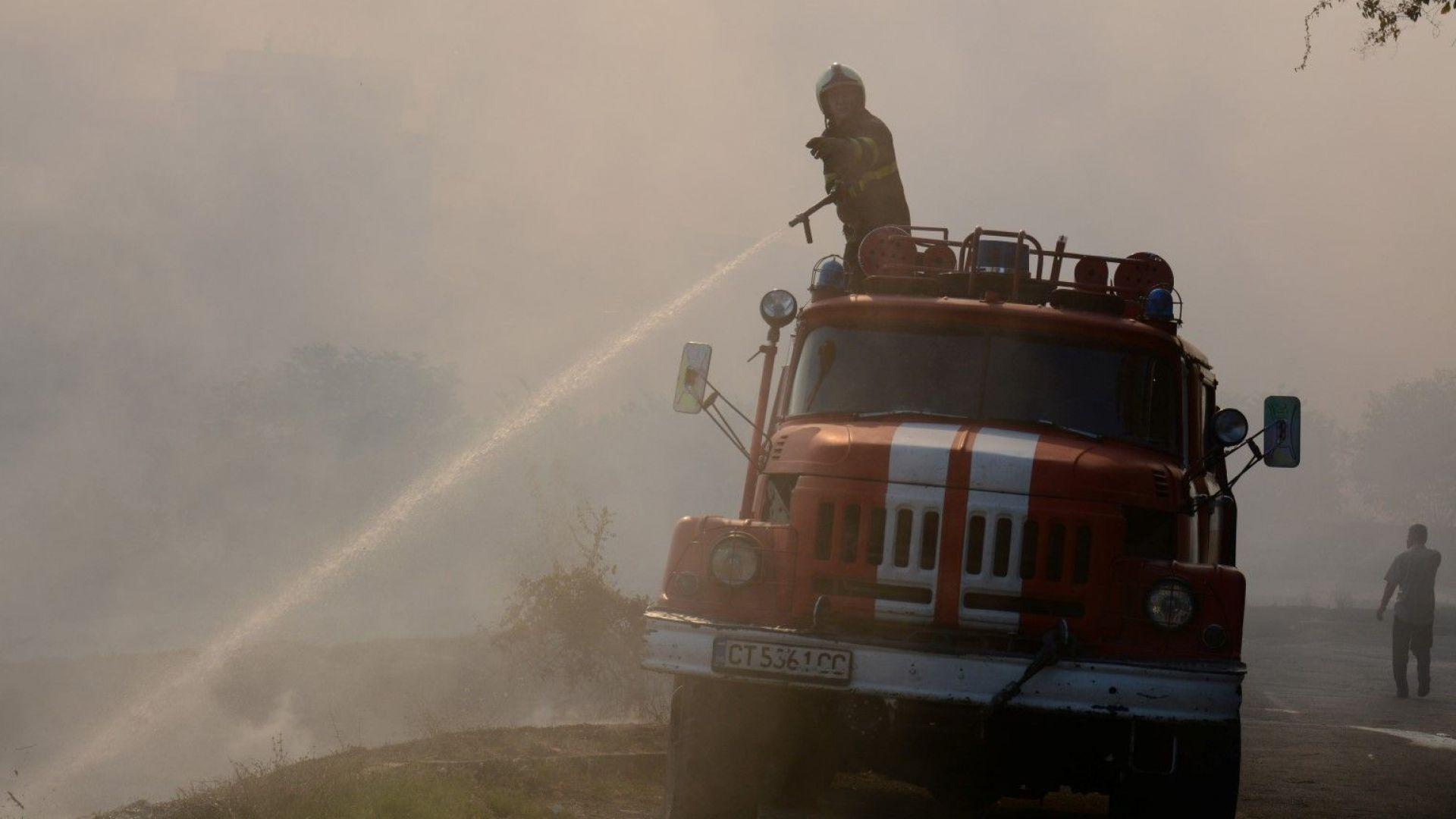 Над 30 горски пожара потушени за три дни в Русенско