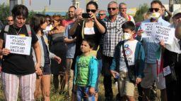 """Протестен автопоход с искане за чист въздух  в Русе блокира ГКПП """"Дунав мост"""""""