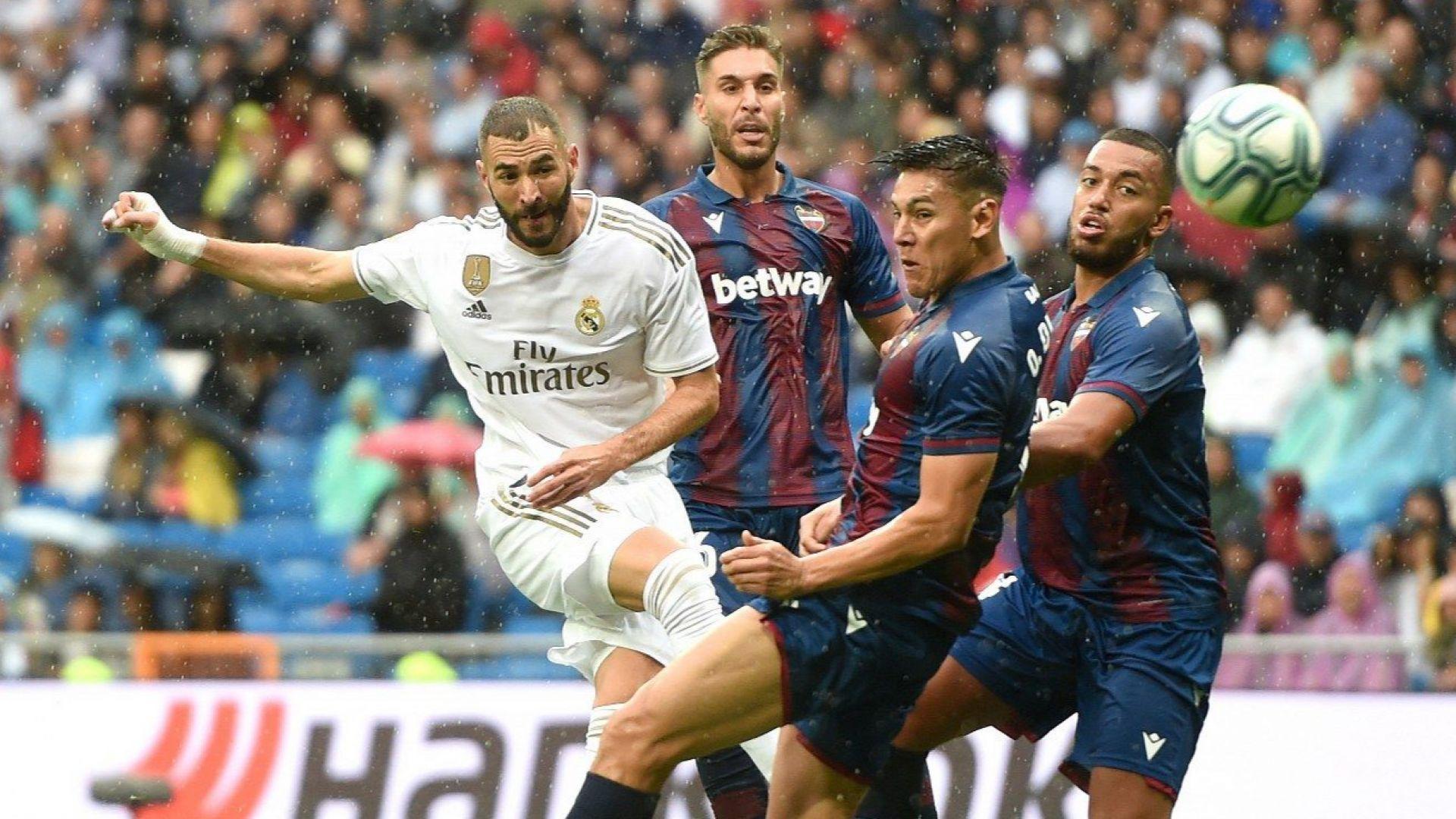 Реал впечатляващо се вдигна, но едва не се провали в спечелен мач