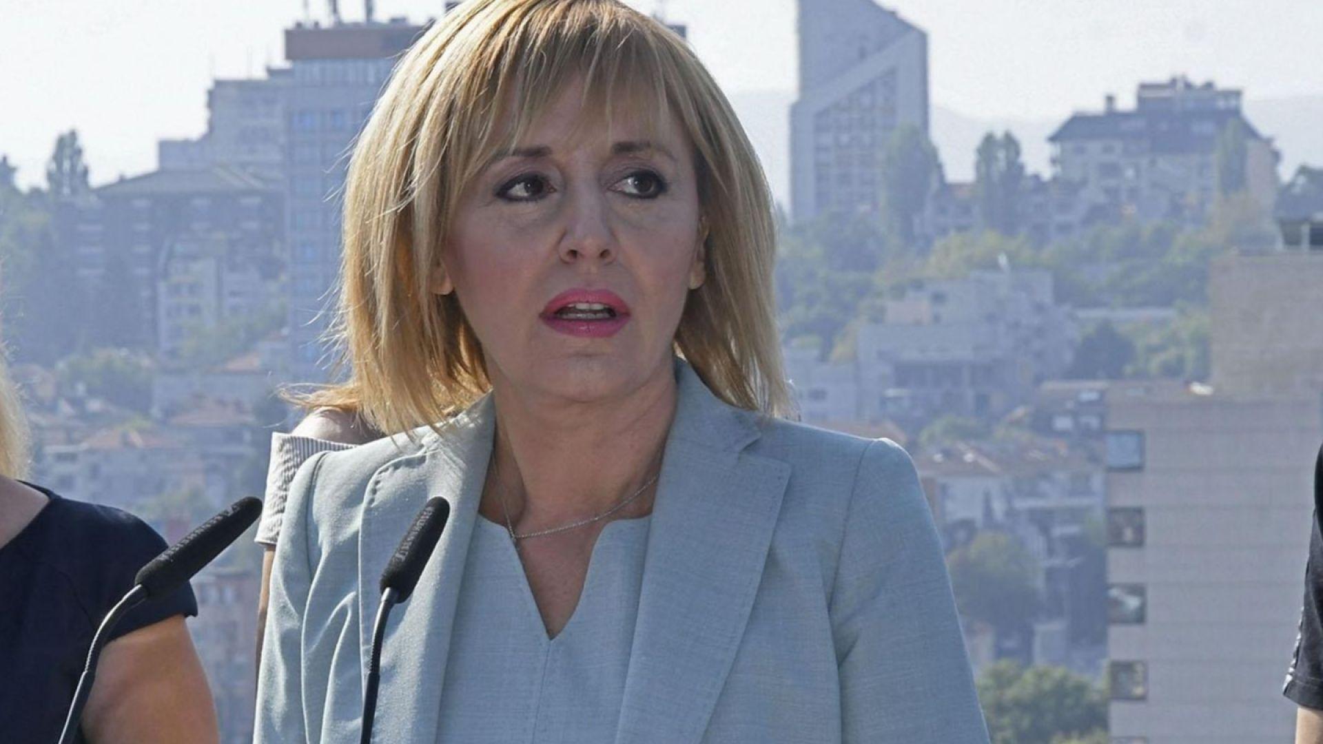 Окончателно - БСП единодушно подкрепи Мая Манолова за кандидат-кмет на София