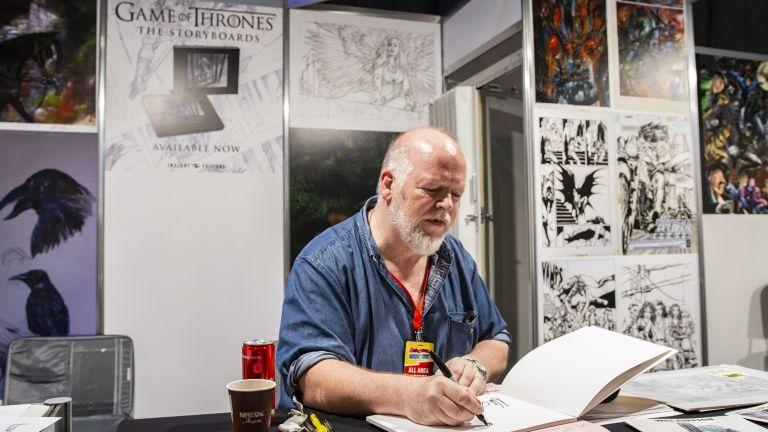 Уилям Симпсън - сториборд на Game of Thrones