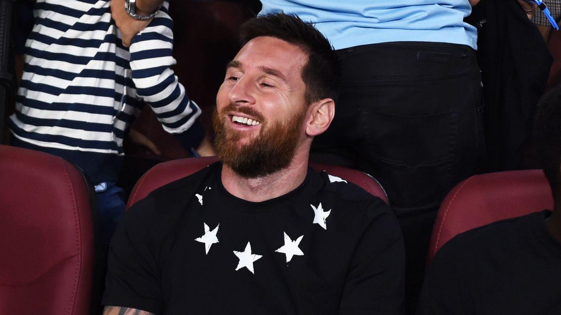 Меси зарадва Барселона преди големия мач в Германия