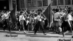Изгубената България:  Първият звънец в усмивки от старите ленти