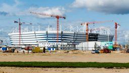 Стадион от Мондиала в Русия вече пропада