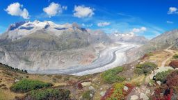 Швейцарските ледници са изгубили 10 процента от обема за 5 години