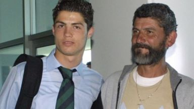 Кадри с покойния му баща разплакаха Кристиано Роналдо