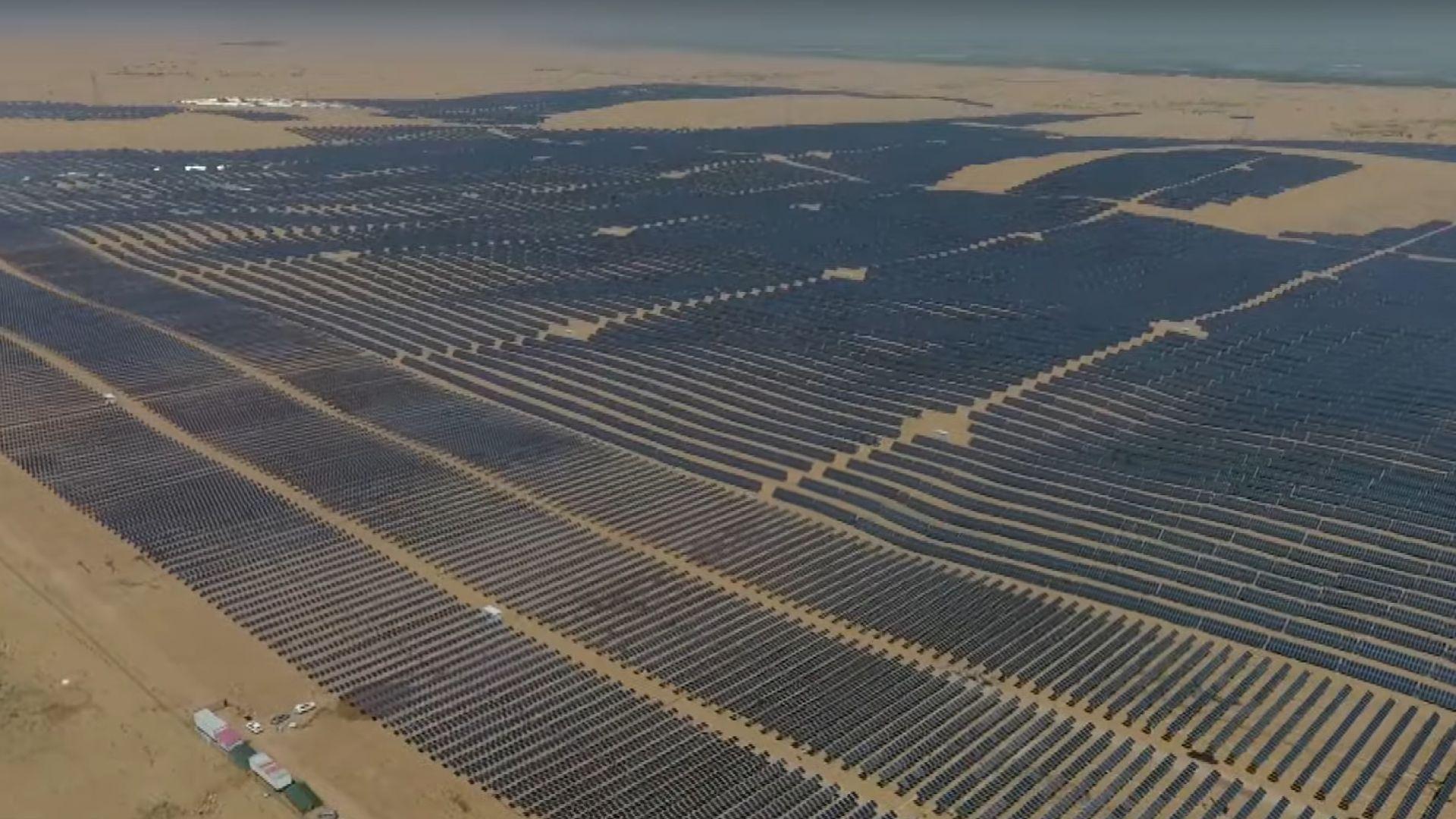 Вижте как изглеждат фотоволтаици с 1 000 000 киловата мощност (видео)