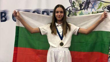 """Александра Георгиева - спортен талант на """"Еврофутбол"""" е балканска шампионка"""