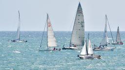 Яхти се блъснаха на състезание край Варна