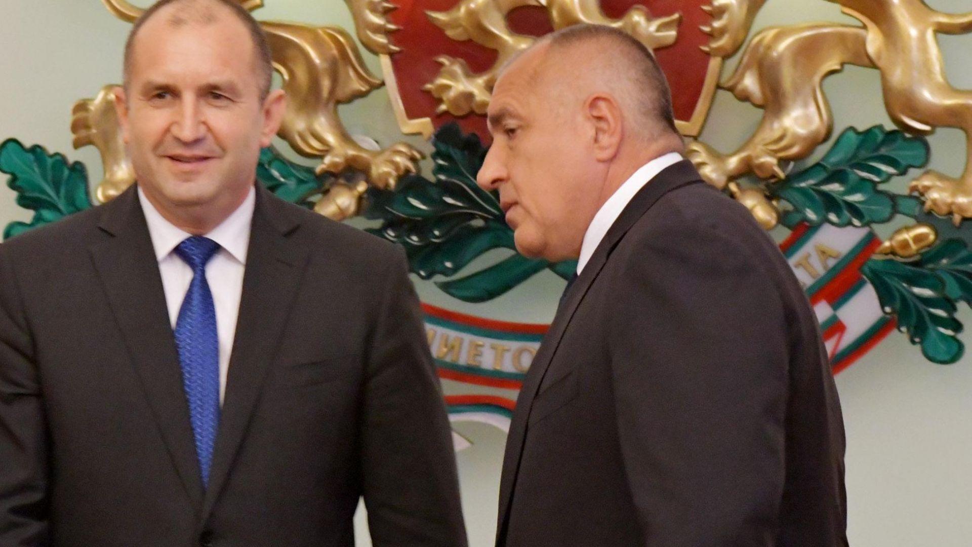 Бойко Борисов: Още през декември свалих доверието от Румен Радев