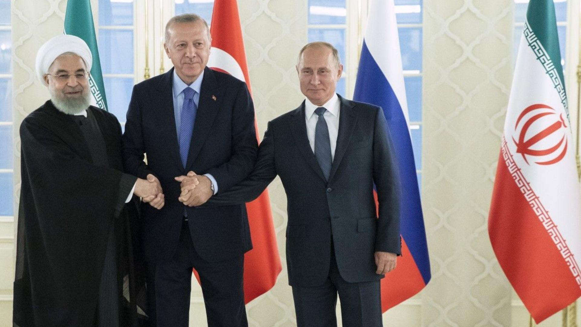 Президентът на Турция Реджеп Тайип Ердоган определи като продуктивна тристранната