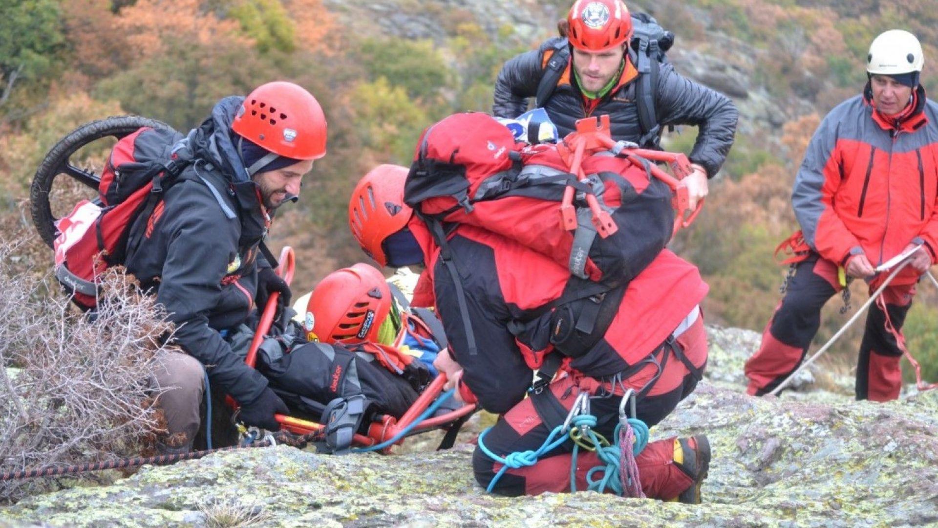 Тежка спасителна акция се е провела на връх Джангал в