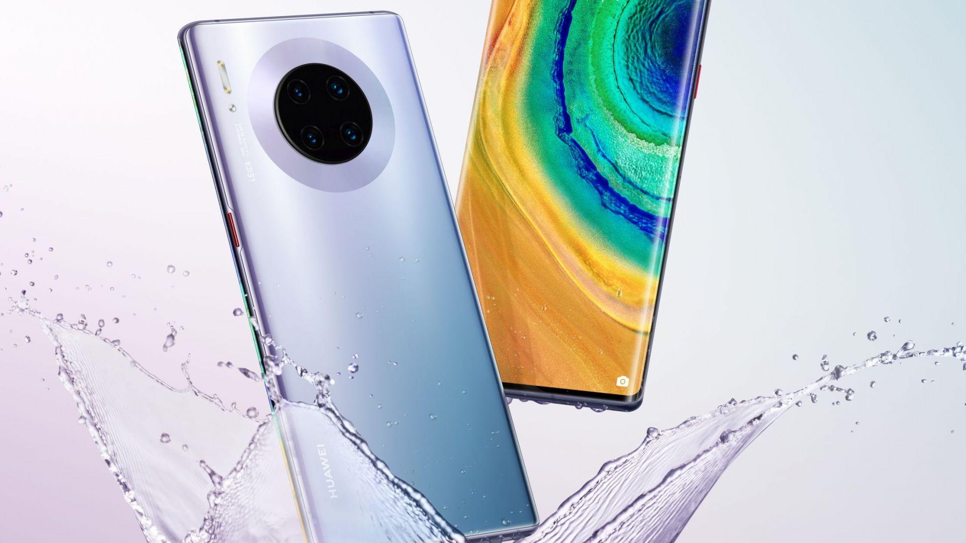 Снимки разкриват как изглежда Huawei Mate 30