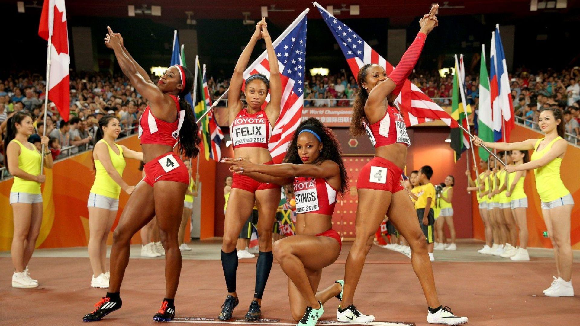 Шесткратна олимпийска шампионка отива на световно 10 месеца след преждевременно раждане