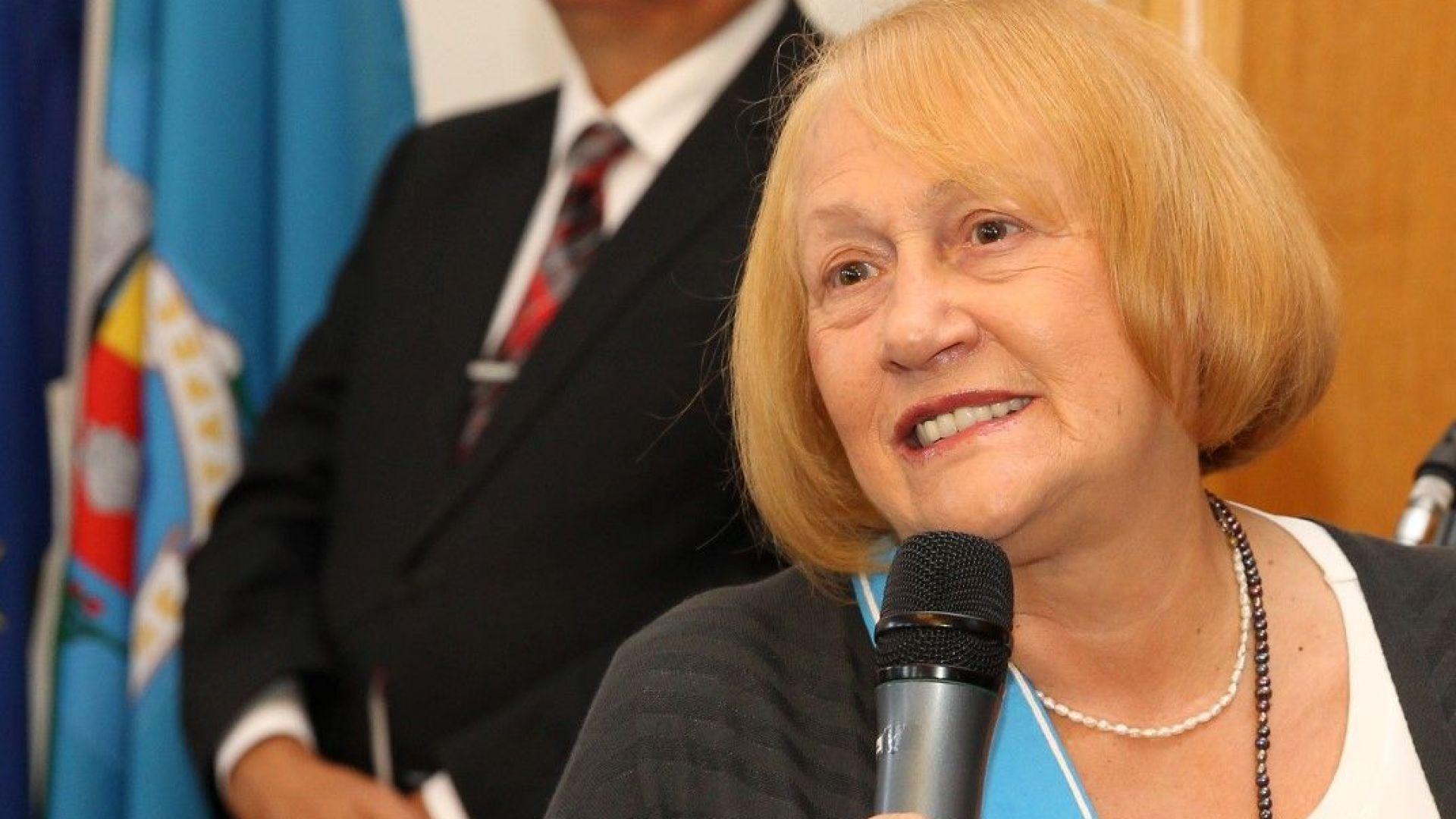 Почетен гражданин на София стана и режисьорът Бина Харалампиева