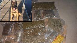 Почина четириногият ловец на наркотици Вихрен