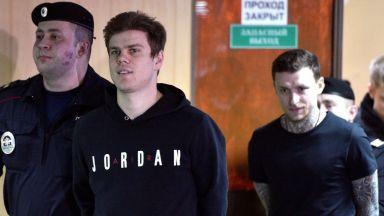 Кокорин и Мамаев излязоха от  затвора, единият подписа с шампиона