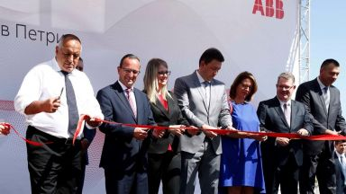 ASEA Brown Boveri откри пети завод в България, Борисов заяви, че така се бори рецесия