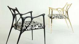 Артистични мебели- картини, сякаш нарисувани с китайско мастило