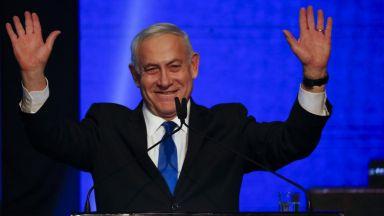 Нетаняху може да загуби властта в Израел след избори, в които няма победител