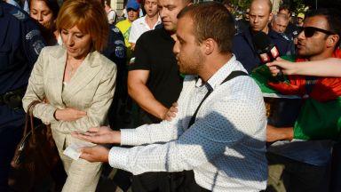 Мая Манолова: Сгреших с поведението си при протестите срещу Орешарски