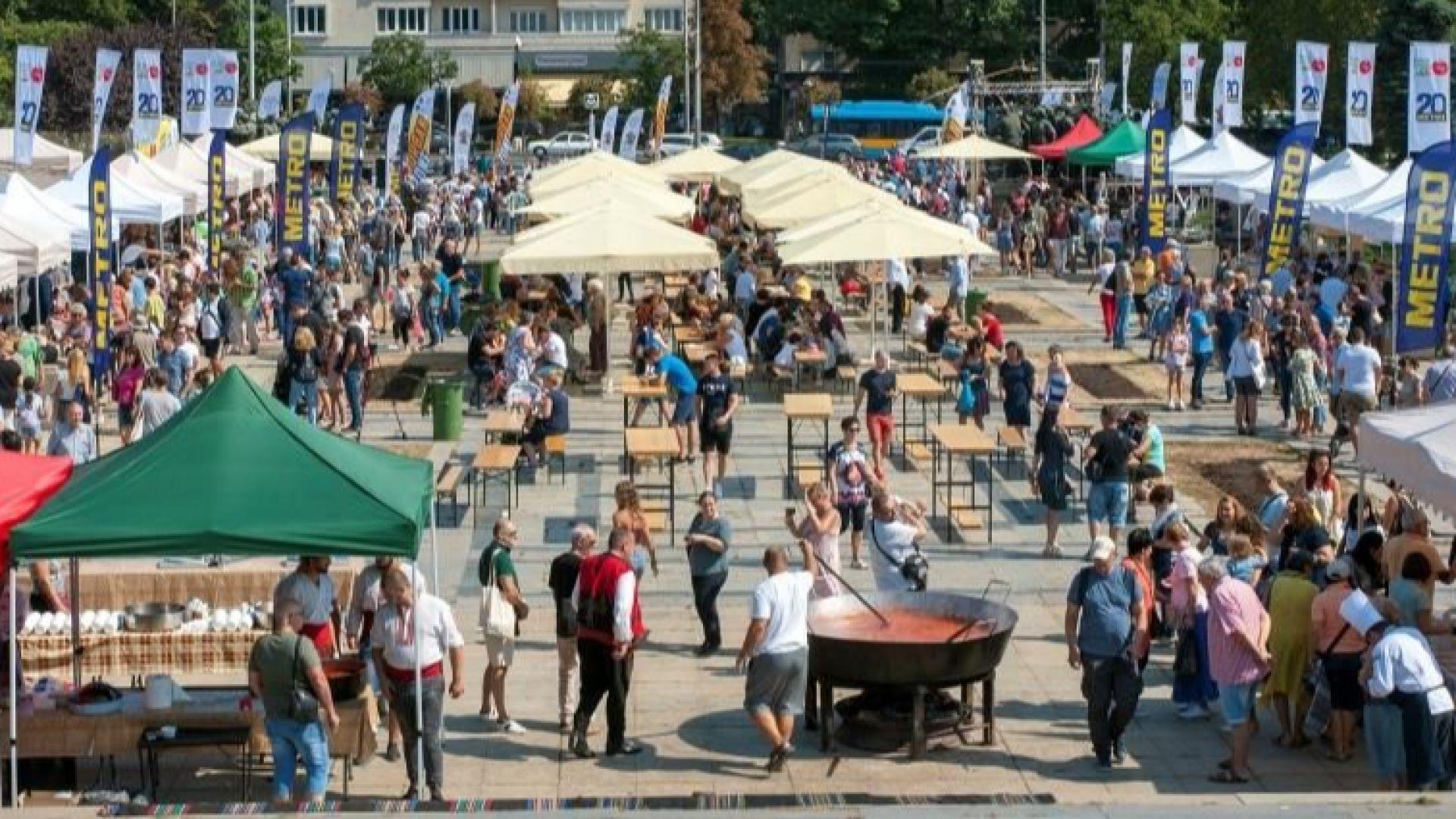 Фестивалът на розовия домат срещна висшата кулинария с автентичните български храни