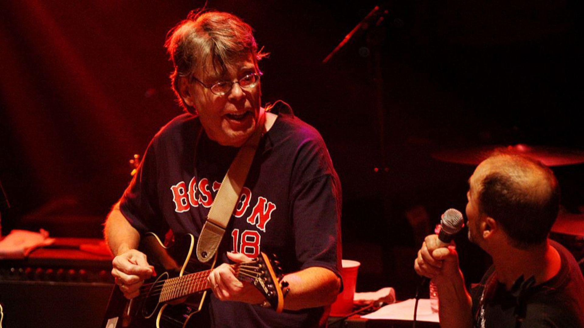 Стивън Кинг пише шедьоврите си под звуците на силна рок музика