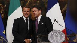 Макрон и Конте се обединиха за нова система за разпределение на мигрантите